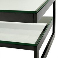 'Gamma' designer coffee table 150 x 80 x 46 cm