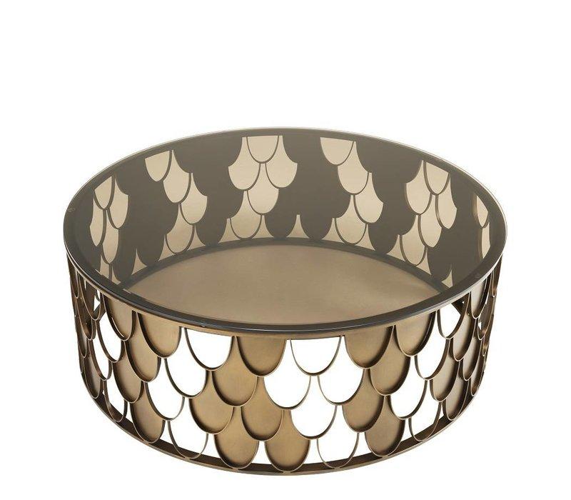 Design Coffee table 'l'Indiscret 110 x H 38 cm