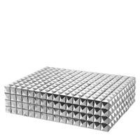Luxus-Sammeldose 'Viviënne' L - Nickel