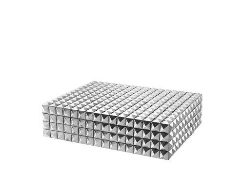 EICHHOLTZ Luxus-Sammeldose 'Viviënne' L - Nickel