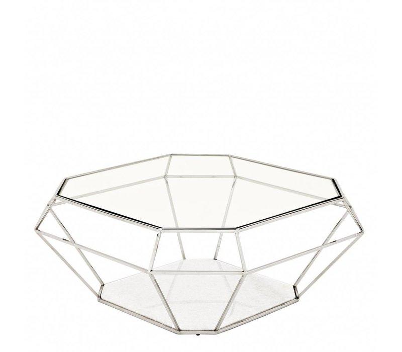 Designer-Salontisch 'Asscher' | 100 x 100 x H41cm
