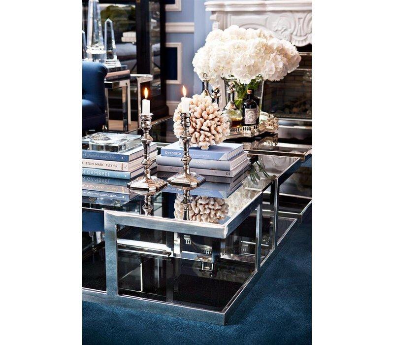 Treasure designer coffee table | 100 x 100 x 32 cm (h)