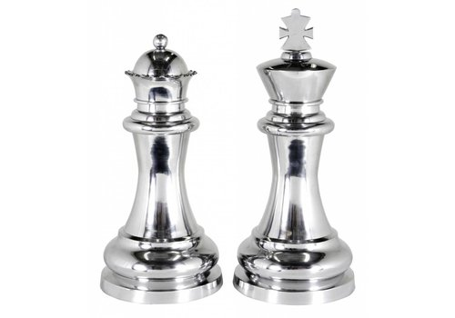 EICHHOLTZ Deco-set 'Chess King & Queen'