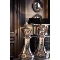 """Dekorationsset """"Chess King & Queen"""" besteht aus zwei großen Schachfiguren."""