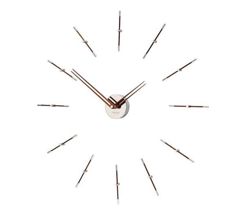 """Wanduhr """"Mini Merlín"""" im minimalistischen Design, Durchmesser 70cm."""