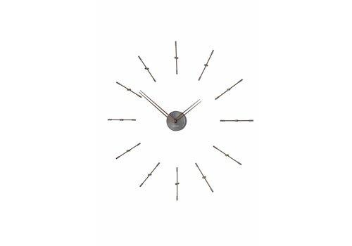 Nomon Wall clock 'Mini Merlín' Graphite
