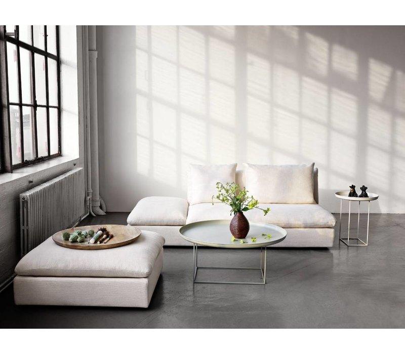 Side table 'Duke Small' diameter 45cm in the color white