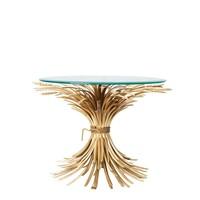 Design side table 'Bonheur' with a diameter of 80 cm