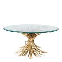 Design Salontafel Bonheur met een diameter van 90cm