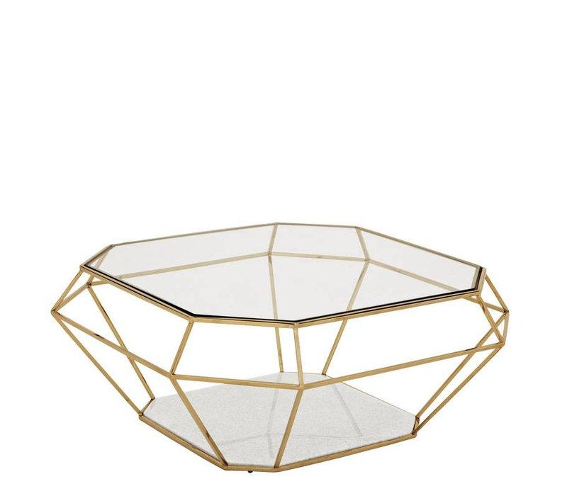 Designer Coffee Table 'Asscher'