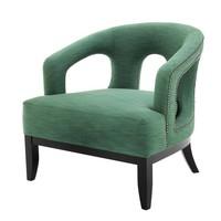 Sessel Adam in der Farbe Albin Green