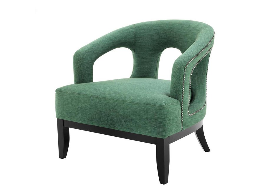 Fauteuil Adam in de kleur Albin Green