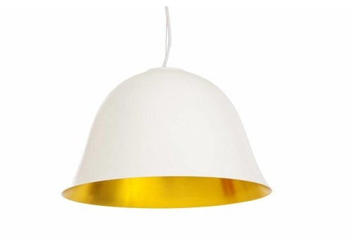 "NORR11 Design Hängelampe ""Cloche Two"" Weiß"