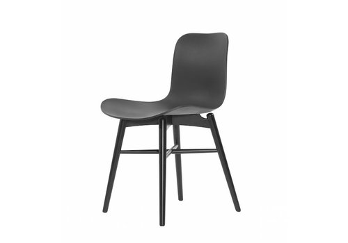 NORR11 Designer chair Langue Original Black / Anthracite Black