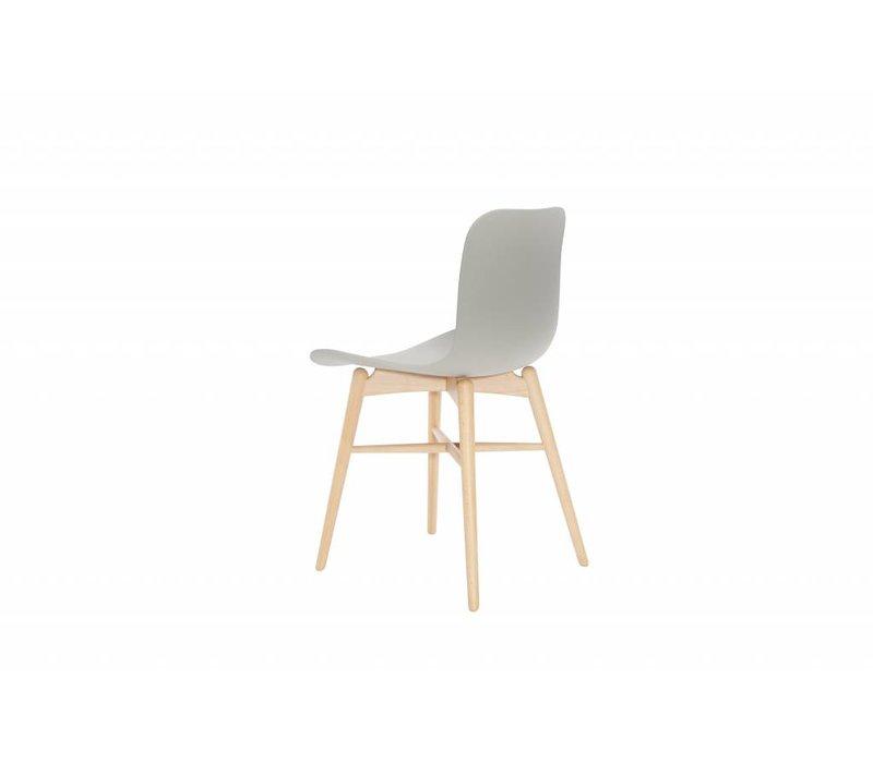 "Design-Stuhl ""Langue Original Natural"" in der Farbe Flint Grey"