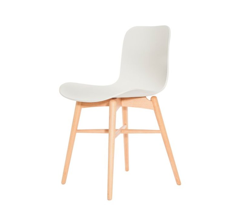 Design-Stuhl Langue Original Natural in der Farbe Off white