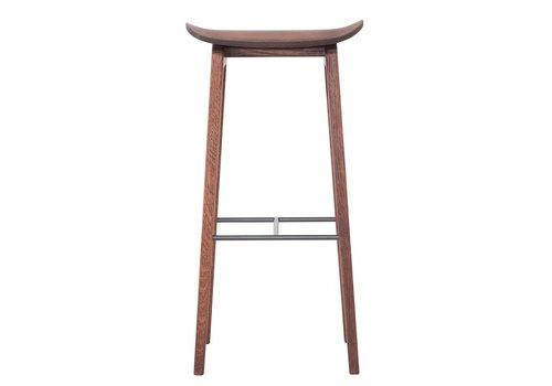NORR11 Bar chair NY11 Walnut