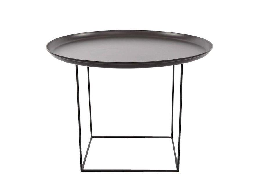 Side table 'Duke Medium' - Earth Black
