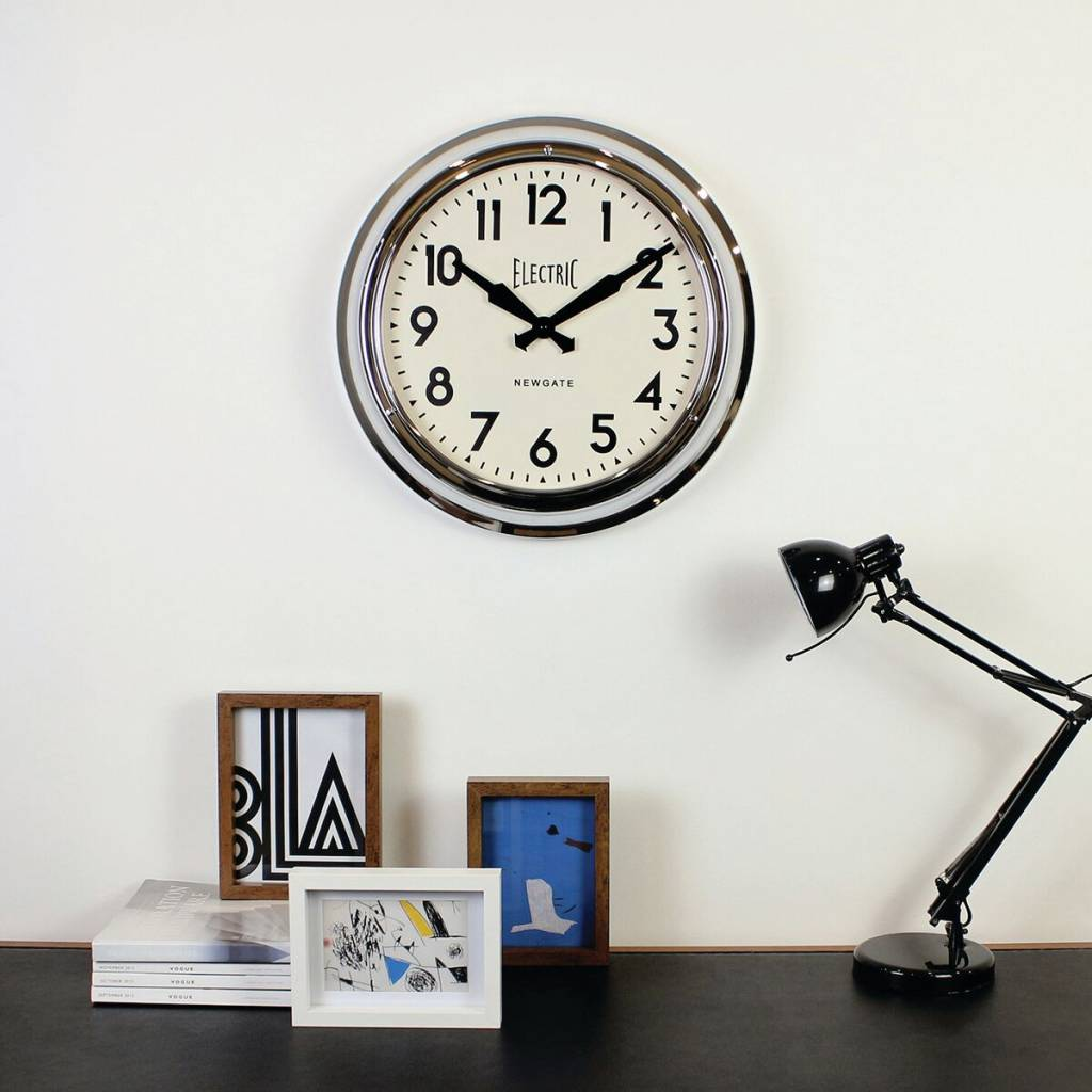 Wall Clock The Large Electric Color