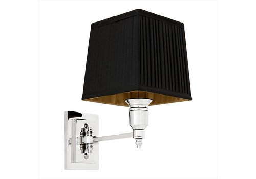 EICHHOLTZ Wandlamp Lexington Single - Black/Nickel