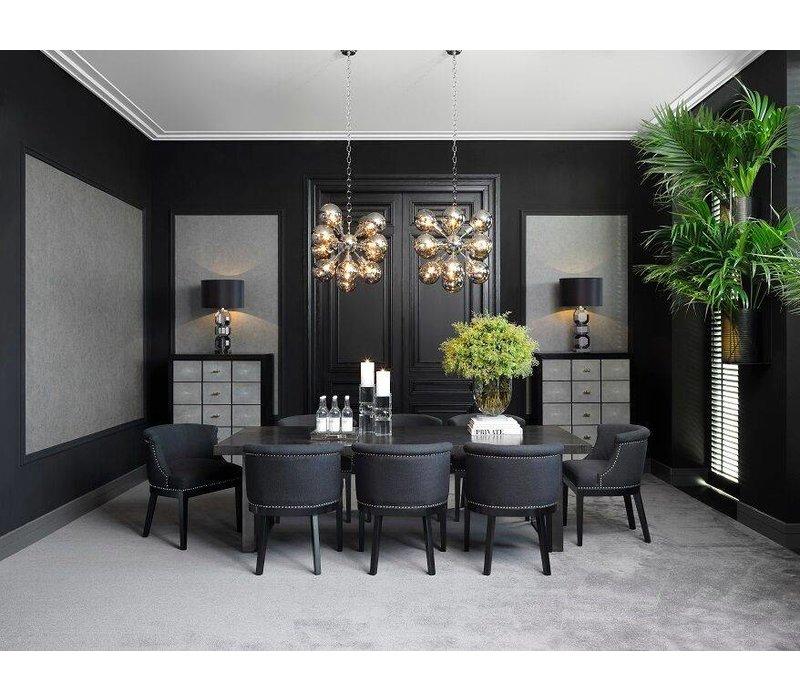Dining chair black - Boca Raton Grande