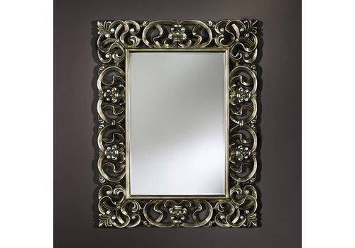 Deknudt Klassischer Spiegel - Silber 'Baroque'