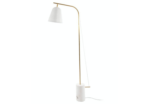 "NORR11 Design-Stehlampe ""Line One"" White"