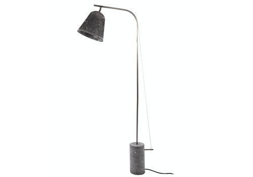 "NORR11 Design-Stehlampe ""Line One"" Oxidized"