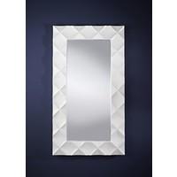 Weißer Spiegel 'Crocio' 96 x 172 cm