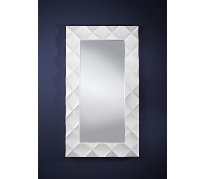 Witte spiegel 'Crocio' 96 x 172 cm