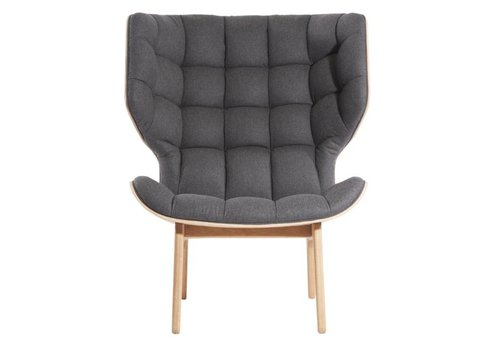 NORR11 Mammoth lounge chair - wool