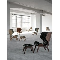 Mammoth lounge chair met wollen bekleding