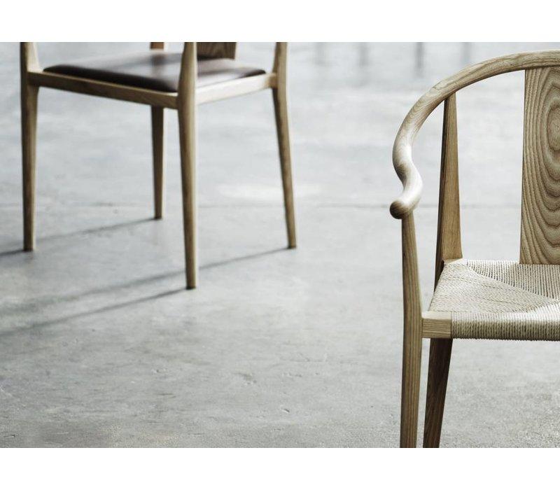 Design stoel 'Shanghai' in de kleur Natural