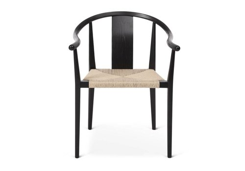 NORR11 Dining chair - Shanghai Black/Natural
