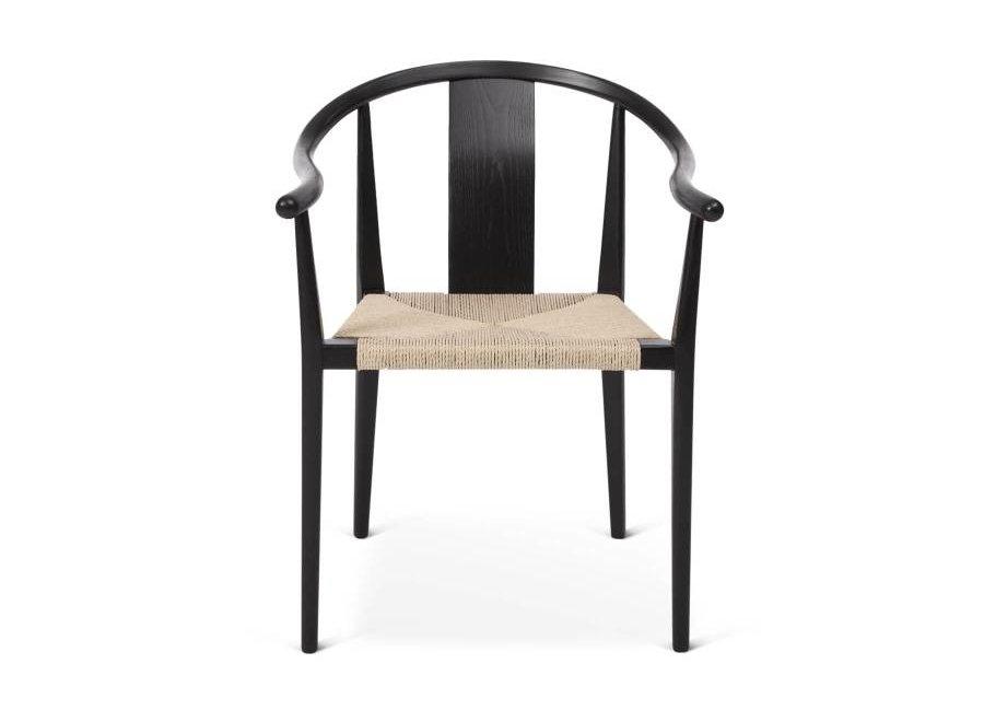 Design-Stuhl Shanghai Black-Naturel