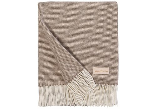 Winter-Home Cashmere plaid 'Grace' Brown