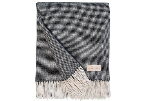 Winter-Home Cashmere plaid 'Grace'Anthracite