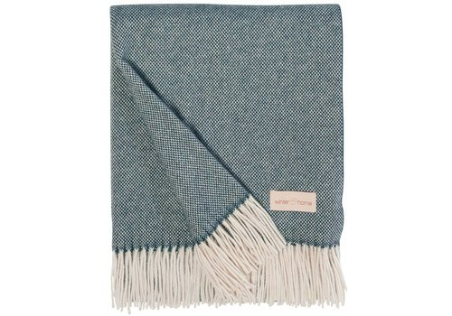 Winter-Home Cashmere plaid 'Grace' Lagoon