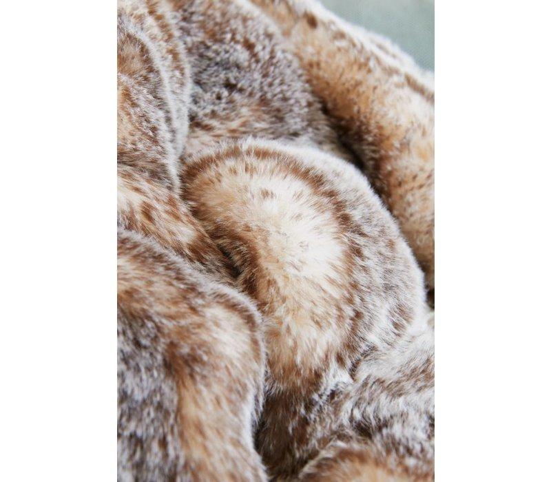 Felldecke 'Tundrawolf' in 130 x 180cm