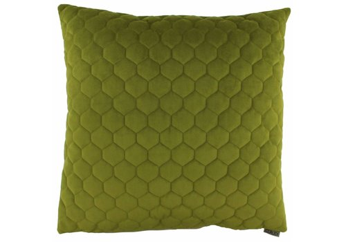 CLAUDI Chique Throw pillow Adrina Olive