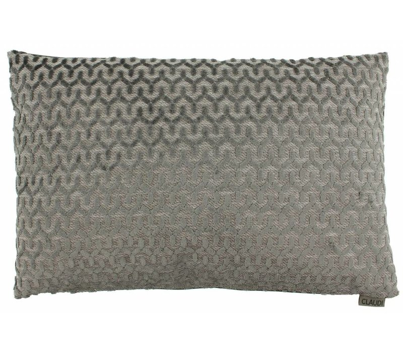 Cushion Jacopo in color Dark Taupe