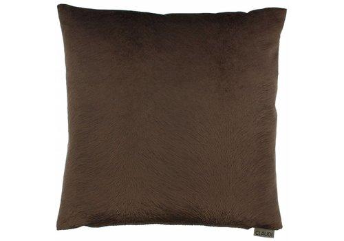 CLAUDI Cushion Perla Chocolate