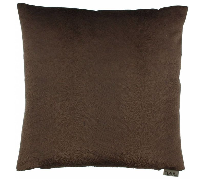 Cushion Perla color Chocolate