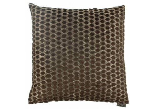 CLAUDI Chique Cushion Sergio Chocolate