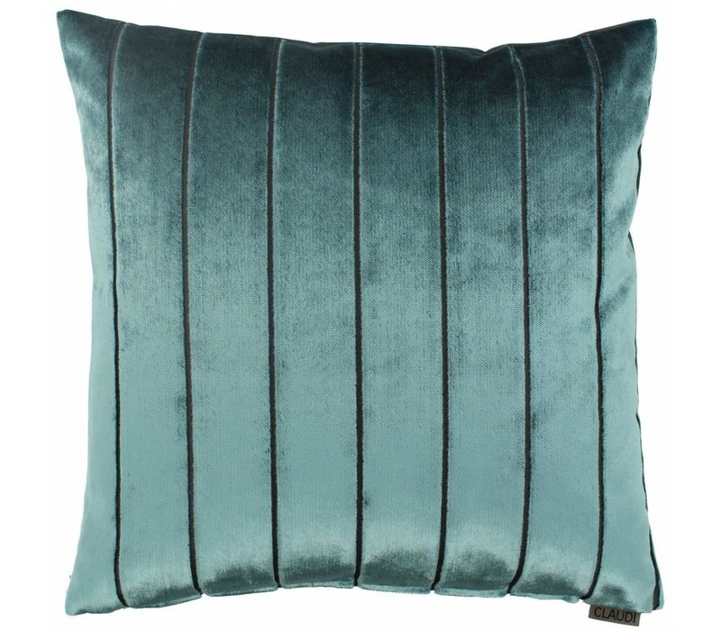 Cushion Bruno in color Petrol