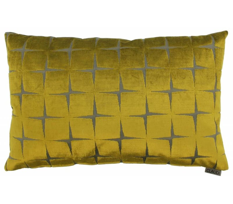 Cushion Isidora in color Mustard