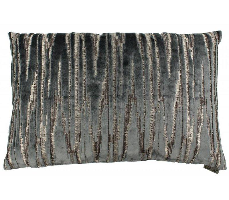Zierkissen Zafira im Farbe Anthracite