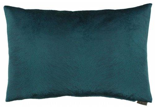 CLAUDI Chique Cushion Perla Petrol