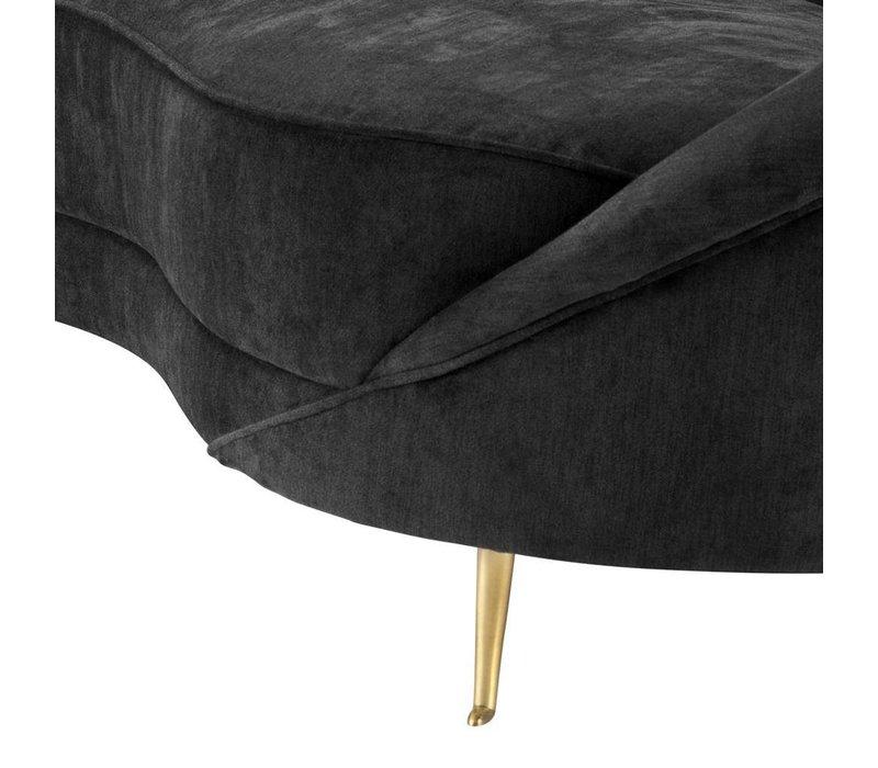 'Provocateur' sofa in black