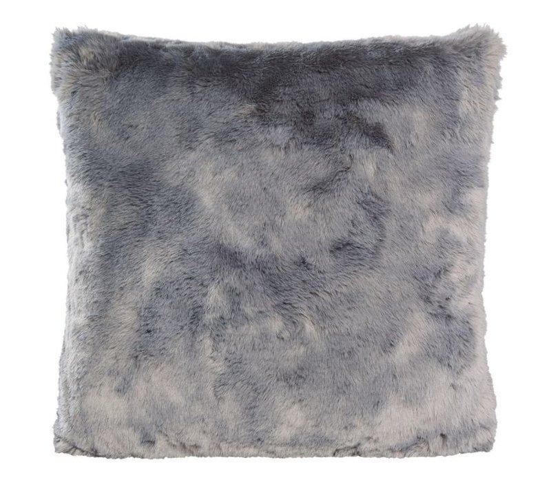 Kussen bont 'Seal Silver Grey' in 45cm x 45cm